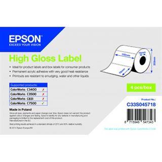 Epson Hachglanz Label 102mm x 76mm 1570 Label