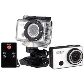"Denver AC-5000W MK2 Full HD Action-Cam mit Wi-Fi inkl. wasserdichtem Geh""use"