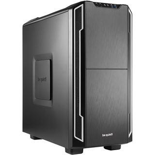 be quiet! Silent Base 600 gedämmt Midi Tower ohne Netzteil schwarz/silber