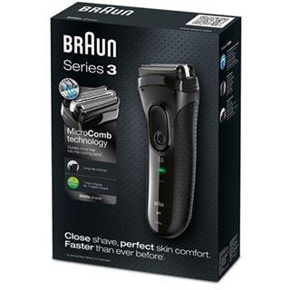 Braun Rasierer Series 3-3020 Herrenrasierer schwarz