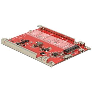 "Delock Konverter USB 3.1 > M.2 NGFF Key B 2.5"" 7 mm"