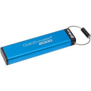 64 GB Kingston DataTraveler 2000 blau USB 3.0