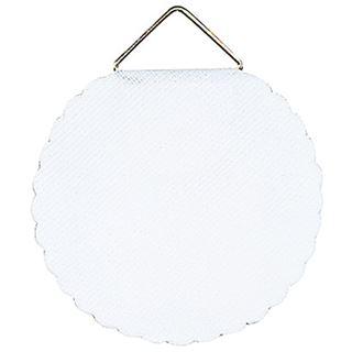 """Herma Bildaufh""""nger Durchmesser 45 mm, Shirting, weiß"""