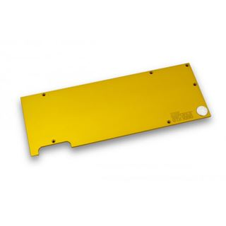 EK Water Blocks EK-FC1080 GTX Backplate - gold