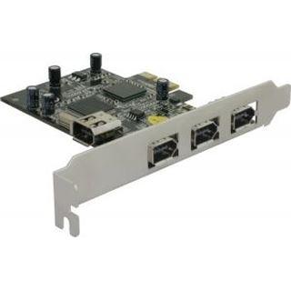 Delock 89132 4 Port PCIe x1 retail
