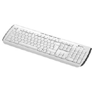 Zignum MM 807 Tastatur Weiß Deutsch USB