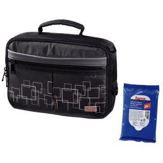 Hama Automotive DVD-Player-Bag + Flachpack Reinigungstücher