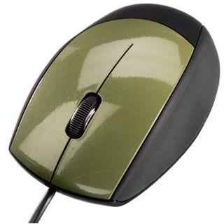 Hama M360 USB schwarz/gruen (kabelgebunden)