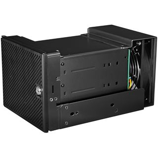 """Lian Li all black Hot Swap Wechselrahmen für 3x 3.5"""" Festplatten (EX-H33SX)"""