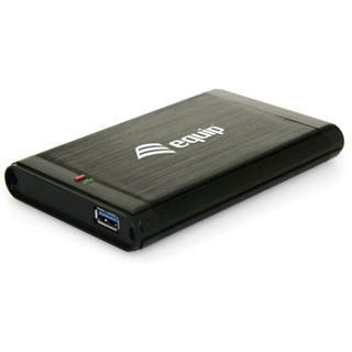 """2.5""""(6,35cm) Equip Gehäuse SATA USB 3.0 Schwarz"""