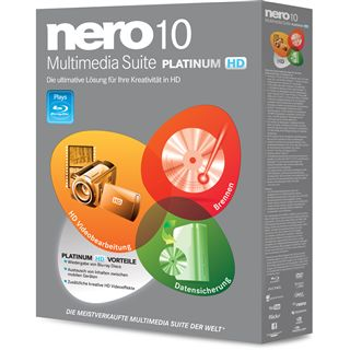 CDR-S Nero 10 Multimedia Suite Plantinum HD - Retail