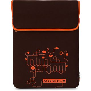 """Soyntec Notebooktasche Lapmotion F71 braun 39.6cm (15,6"""")"""