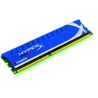 4GB Kingston HyperX DDR3-1600 DIMM CL9 Single
