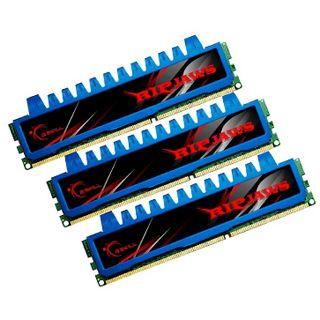 12GB G.Skill Ripjaws DDR3-1600 DIMM CL7 Tri Kit
