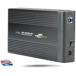 "WinTech EX-MOB-90 3.5"" (8,89cm) USB 3.0 schwarz"