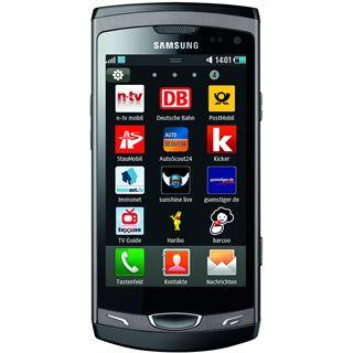 Samsung S8530 - Wave II metallic black