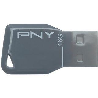 16 GB PNY Attache silber USB 2.0