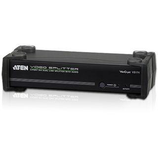 ATEN Technology VS174-AT-G 4-fach DVI-A/V-Splitter