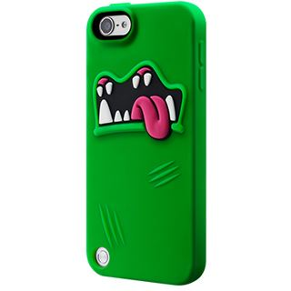 SwitchEasy MONSTERS Scrappy (SW-MONT5-GN): freaky Protection Solution für iPod Touch 5G