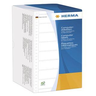 Herma 8213 weiß Computeretiketten 10.16x4.84 cm (6000 Stück)