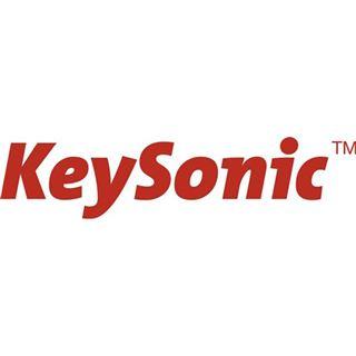 KeySonic KSK-8003 IN USB Deutsch weiß (kabelgebunden)