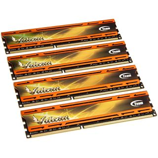 32GB TeamGroup Vulcan Series orange DDR3-2133 DIMM CL11 Quad Kit