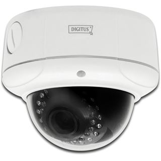 Digitus IP-Cam OptiDome Pro WLan Plug&View outdoor Tag/Nacht