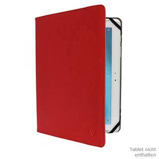 """V7 Universal Folio Case Tablet 10"""" rot"""