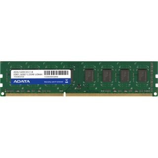 2GB ADATA Premier Series DDR3-1600 DIMM CL11 Single