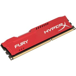 8GB HyperX FURY rot DDR3-1333 DIMM CL9 Single