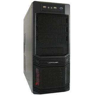 LC-Power Pro-925B Midi Tower 450 Watt schwarz