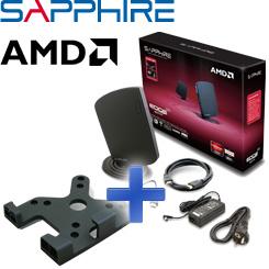 SAPPHIRE EDGE-HD3 Mini PC inkl. VESA-Halterung - ein PC in Taschenbuchgröße