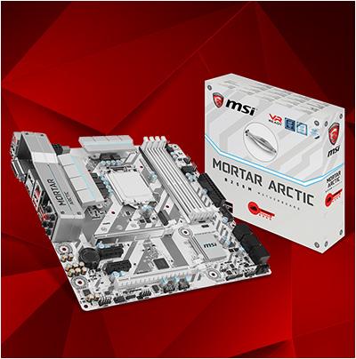 MSI B250M Mortar Arctic Intel B250 So.1151 Dual Channel DDR4 mATX Retail
