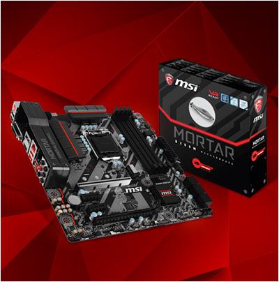 MSI B250M MORTAR Intel B250 So.1151 Dual Channel DDR mATX Retail